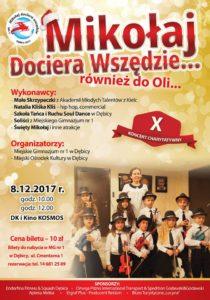 Mikołaj dociera wszędzie... @ Dom Kultury i Kino Kosmos | Dębica | Województwo podkarpackie | Polska