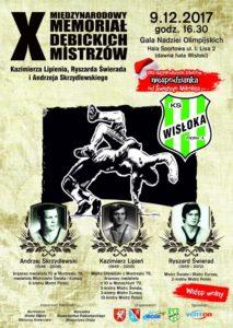 X Międzynarodowy Memoriał Dębickich Mistrzów @ Hala Sportowa