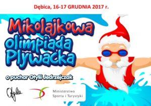 III Mikołajkowa Olimpiada Pływacka o Puchar Otylii Jędrzejczak @ Basen MOSiR | Dębica | Województwo podkarpackie | Polska