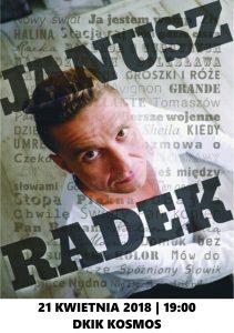Koncert: Janusz Radek @ Dom Kultury i Kino Kosmos | Dębica | Województwo podkarpackie | Polska