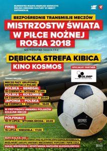 Dębicka Strefa Kibica: Polska - Kolumbia @ Dom Kultury i Kino Kosmos