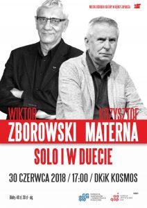 Zborowski i Materna – solo i w duecie @ Dom Kultury i Kino Kosmos