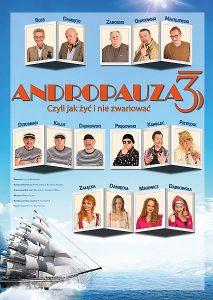 """Sepktakl """"Andropauza 3"""" @ Dom Kultury i Kino Kosmos"""