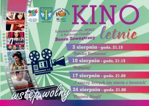 """Kino plenerowe w Gminie Dębica: Sztuka kochania @ Kompleks Basenów """"Nemo"""" w Pustkowie Osiedlu"""