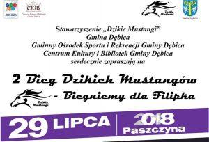 II Bieg Dzikich Mustangów @ Boisko Sportowe w Paszczynie