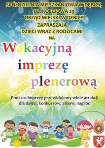 Wakacyjne imprezy plenerowe - ul. Pana Tadeusza @ Osiedle Pana Tadeusza