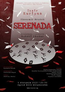 Teatr Kurtyna: Serenada @ Ogród Willi Wiluszówka