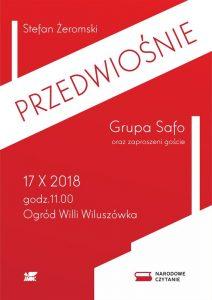 Narodowe Czytanie: Przedwiośnie @ Ogród Willi Wiluszówka