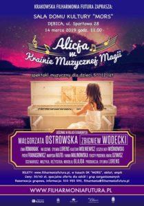 Spektakl: Alicja w Krainie Muzycznej Magii @ Dom Kultury MORS
