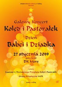 Galowy Koncert Kolęd i Pastorałek @ Dom Kultury MORS