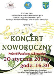 Koncert Noworoczny w Gminie Dębica @ Kościół Parafialny w Brzeźnicy