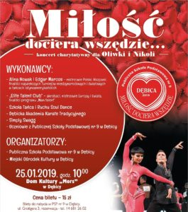 """Koncert charytatywny """"Miłość dociera wszędzie..."""" @ Dom Kultury MORS"""