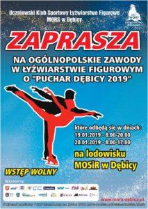 """Ogólnopolskie Zawody w Łyżwiarstwie Figurowym o """"Puchar Dębicy 2019"""" @ Lodowisko MOSIR"""