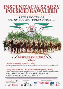 Inscenizacja Szarży Polskiej Kawalerii @ Wały nad Wisłoką